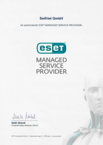 ESET Managed Service Provider